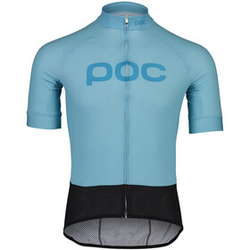 POC Essential Road Logo SS Jersey Men, light basalt blue/basalt blue